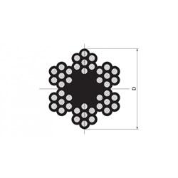 Трос PVC DIN 3055 - фото 6483